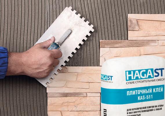 Клеевые материалы для укладки плитки